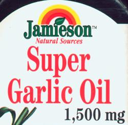 Jamieson Natural Sources Super Garlic Oil 1,500 mg
